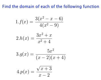 How To Find The Domain Of A Function High School Math Lesson Plans Math Lesson Plans Teaching Math