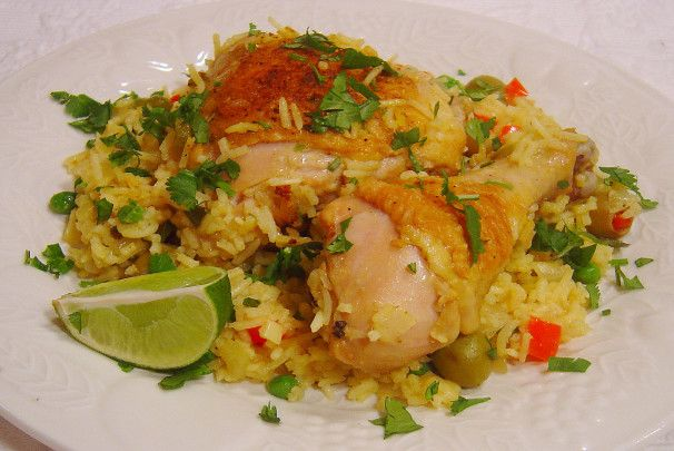 Arroz Con Pollo Recipe Food Com Receta Arroz Con Pollo Pollo Comida