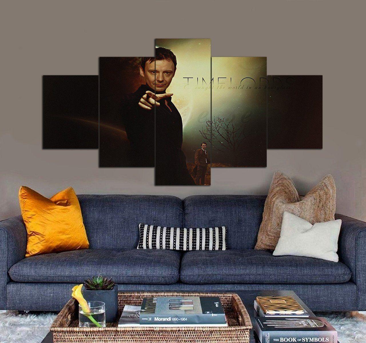 Doctor Who Canvas Art Prints Set Tv Shows 5 Piece Canvas Wall Art In 2020 Canvas Art Wall Decor Canvas Wall Art Set 5 Piece Canvas Art