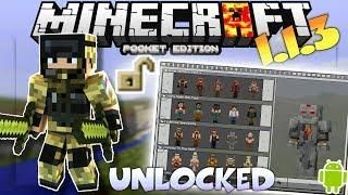 Minecraft pe 113 unlocked how to unlock skins texture packs minecraft pe 113 unlocked how to unlock skins texture packs maps sciox Image collections