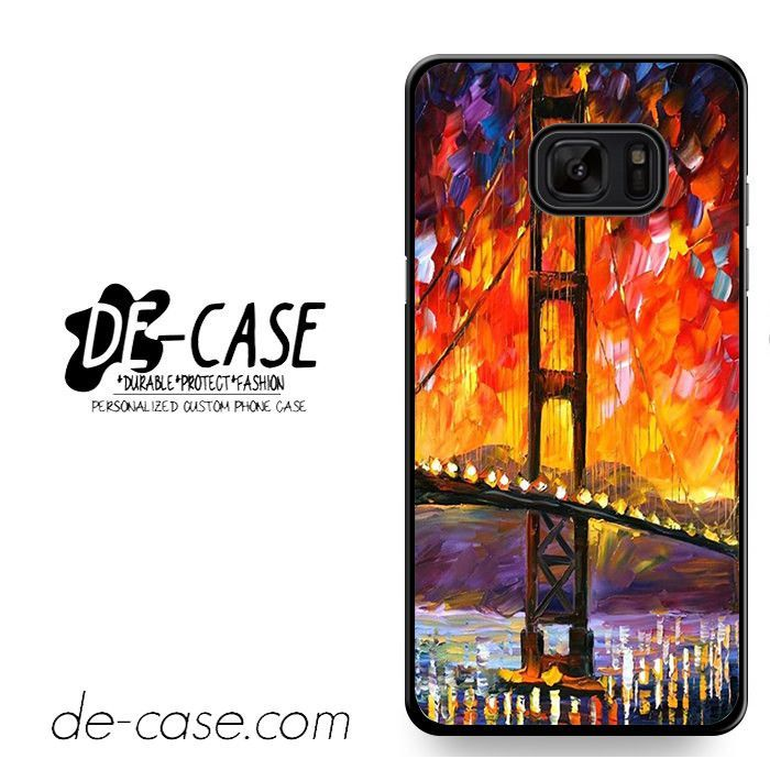 Golden Gate Bridge Painting DEAL-4758 Samsung Phonecase Cover For Samsung Galaxy Note 7