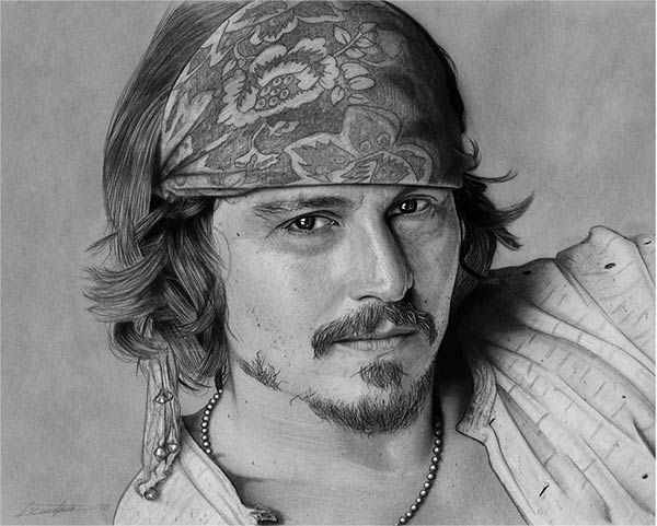 Character drawings of famous people amazing photo realistic pencil drawings