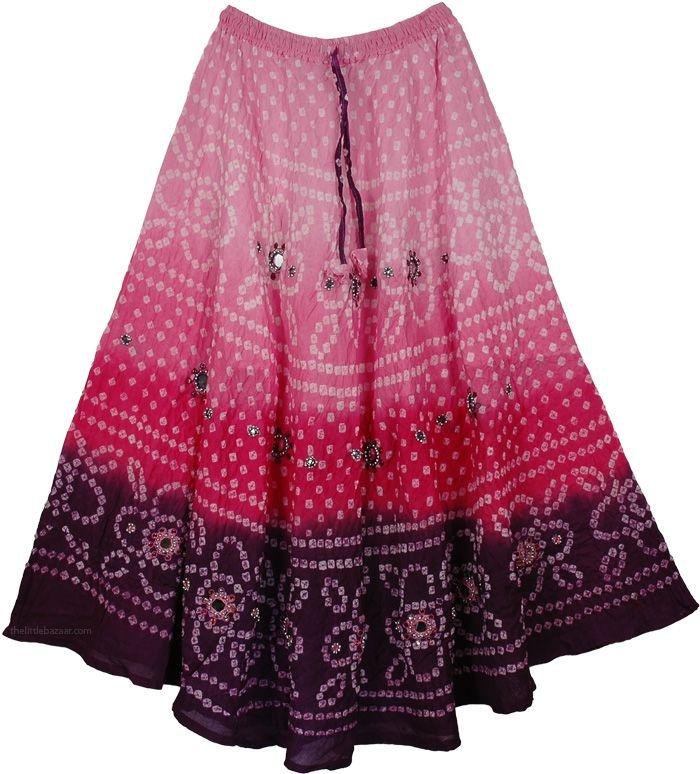 Bell Princess Mirrors Long Skirt 36L