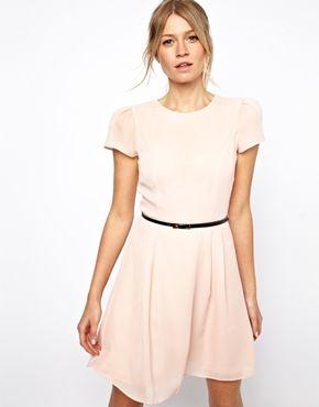 Short Dresses with Belts