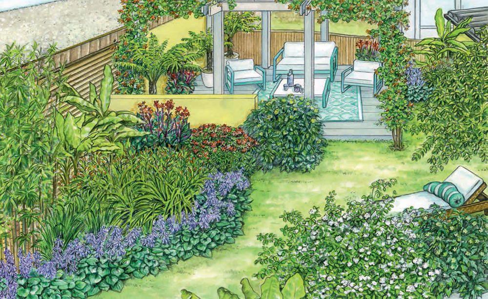 Neuer Rahmen für eine Terrasse   Oase, Sichtschutz und Präsentieren
