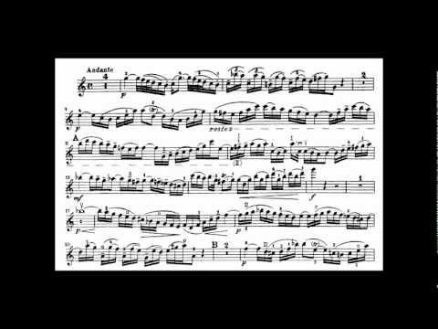 ▷ JS BACH - VIOLIN Concerto in A minor, BWV 1041 (GRUMIAUX