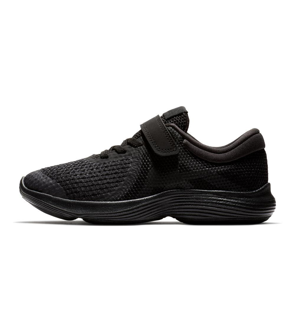 6832308615f Nike Revolution 4 PS Kids Black Black