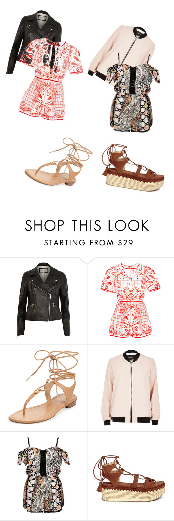 """""""It's just so beautiful"""" by lolacassidy1130 ❤ liked on Polyvore featuring River Island, Alice McCall, MICHAEL Michael Kors and Stuart Weitzman"""