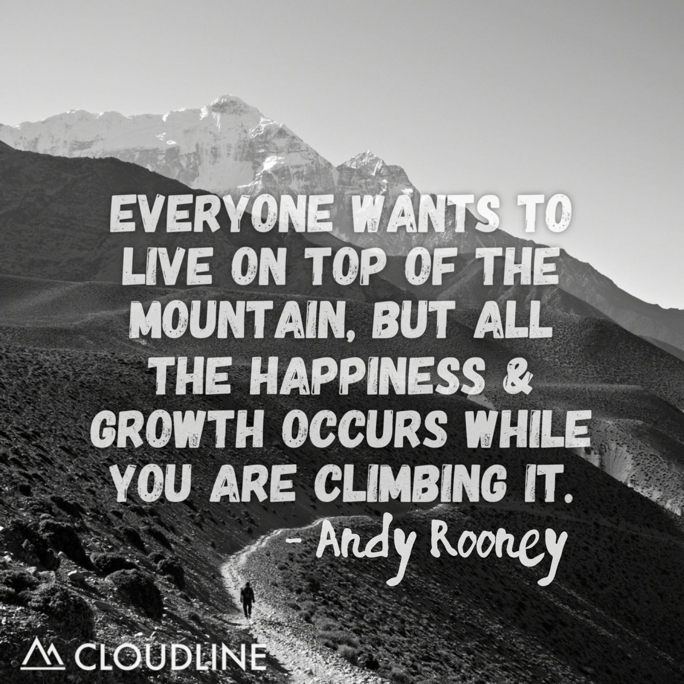 Enjoy The Journey To The Top Of The Mountain Nature Quotes Adventure Adventure Quotes