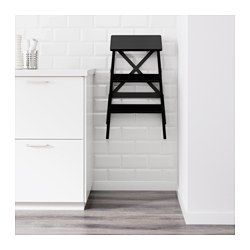 Fine Bekvam Porrasjakkara 3 Porrasta Musta Ikea Kitchen Customarchery Wood Chair Design Ideas Customarcherynet
