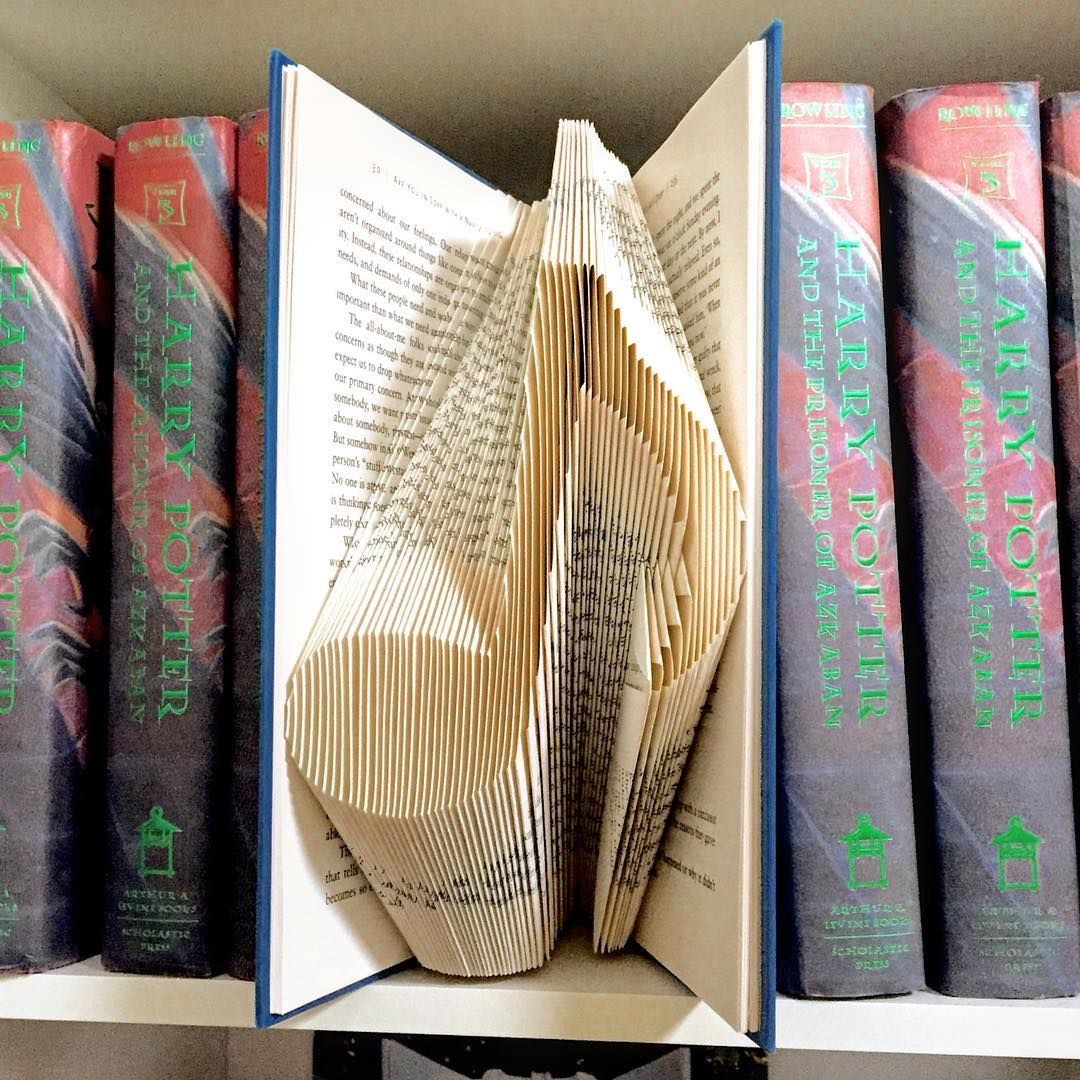 Ordinary Folded Book Art Part - 7: Crafty · U201cI Usually Spend All Day Folding Book ...