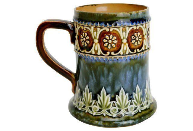 Antique Doulton Lambeth Mug Pottery Mugs Mugs Pottery