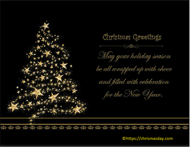 Christmas holiday greetings for Business Business