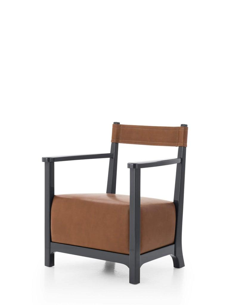 Azucena Chinotto Low Small Armchair By Luigi Caccia Dominioni Caccia