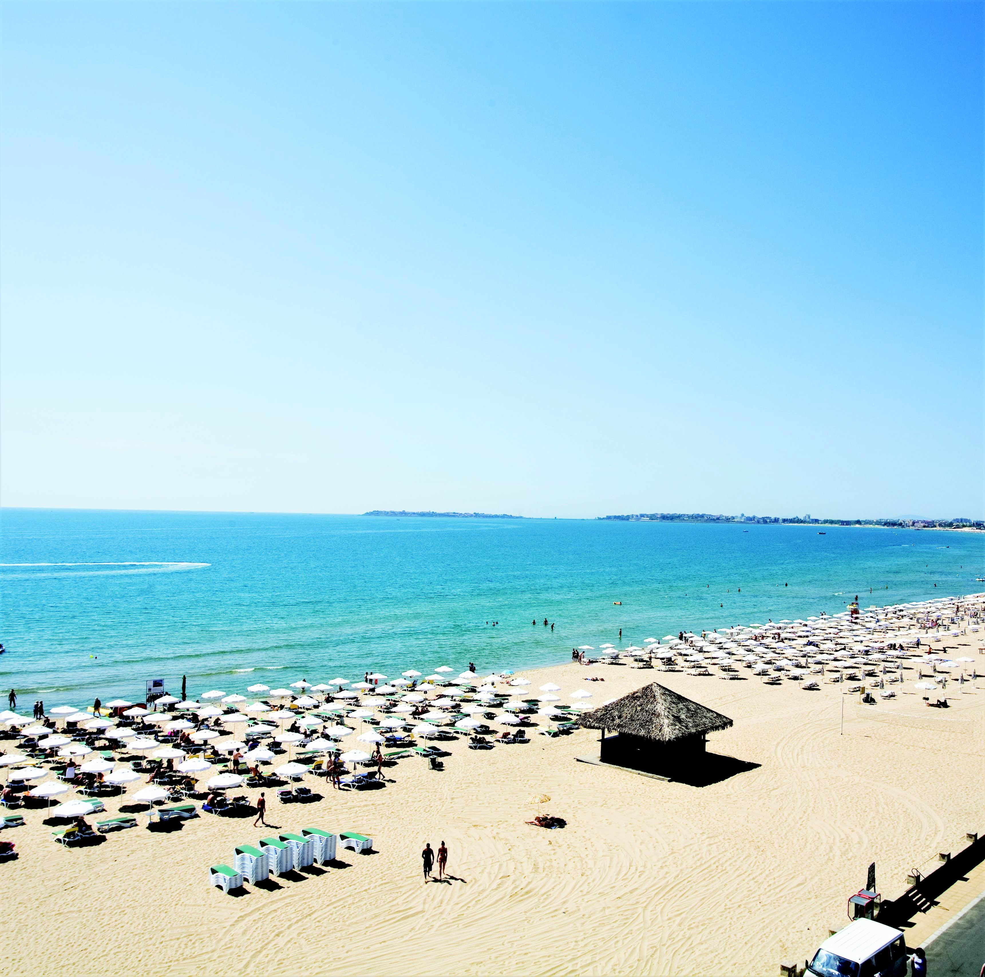 Bulgarien Urlaub Evrika Beach Club Strand Sandstrand