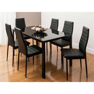 Orren Ellis Reiner Modern Contemporary Dining Table In 2020