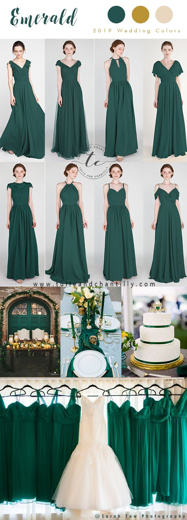 Emerald green dress for wedding  Long u Short Bridesmaid Dresses From  in Size  and  Color