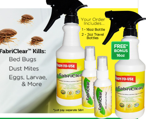 More Info At Http Gardeningctr Com Fabriclear Bed Bugs Spray For