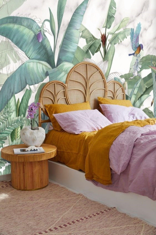Tropical Banana Leaf Wallpaper Peel and Stick, Jungle