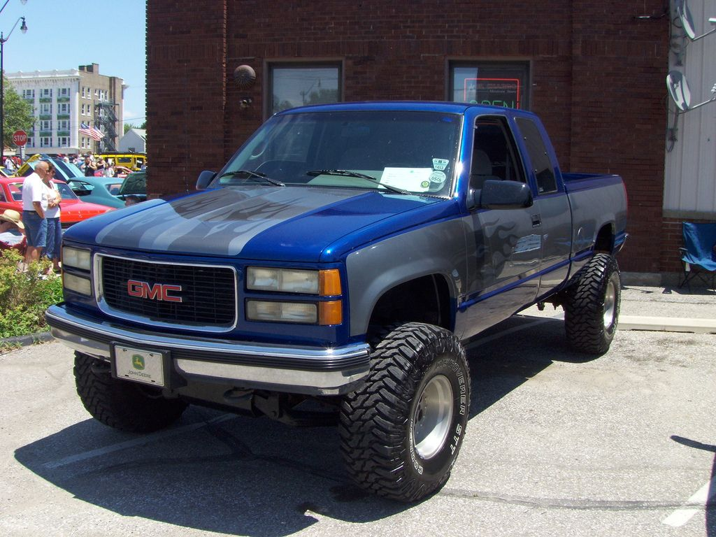 1995 gmc 1500 z71 truck