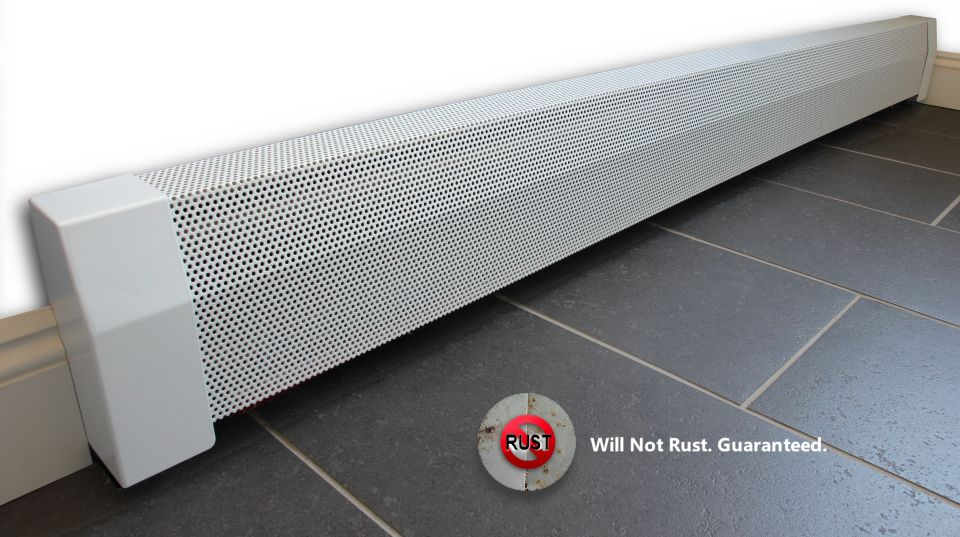 Base Board Heater Covers Do Not Rust And Have Great Air Flow