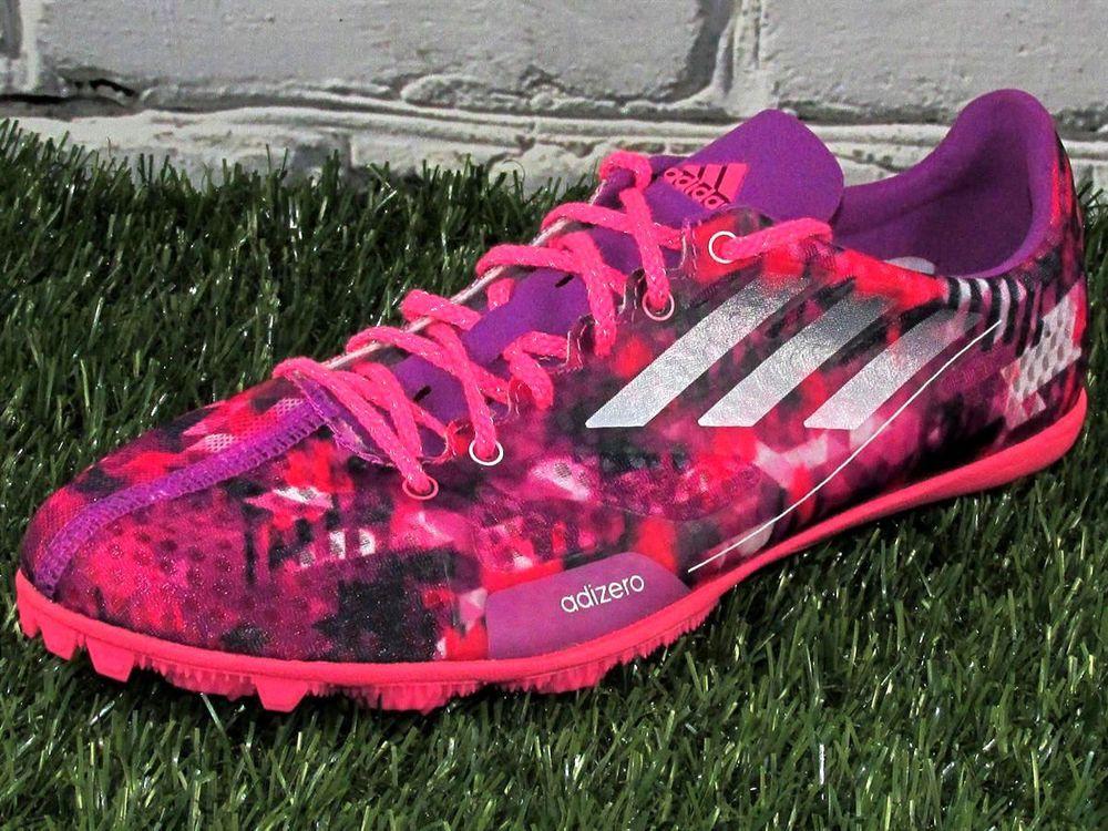 2508e5d21a8c8b WOMENS Adidas Adizero Ambition 2 Lightweight Track Spikes Pink Purple   adidas  TrackSpikes