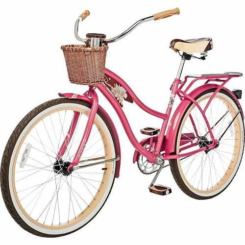 Huffy Panama Jack Cruiser Bike At Walmart In Denver Via Michele Aschenbrenner Bikes Cruiser Bike Schwinn Bike Vintage Ladies Bike