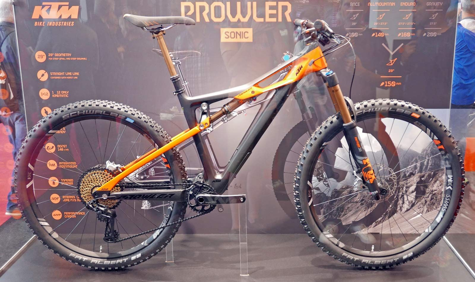 Eb17 Ktm Offers A Closer Look At The Prowler All Mountain Bike