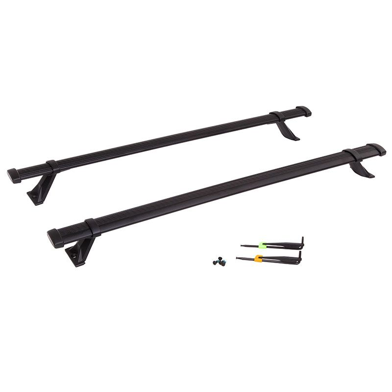 Add Function And Style To The Factory Roof Rack Of Your Vehicle With This Roof Rack Cross Rail Package In Black With 2018 Chevy Equinox Roof Rack Chevy Equinox