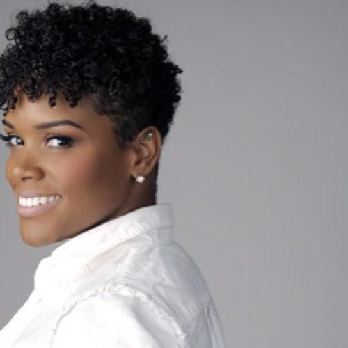 Short Tapered Natural Hairstyles the big chop Pinterest