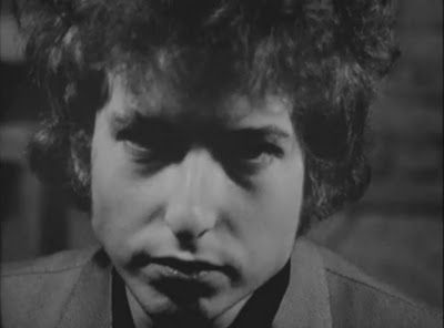 Bob Dylan screen-tested by Andy Warhol