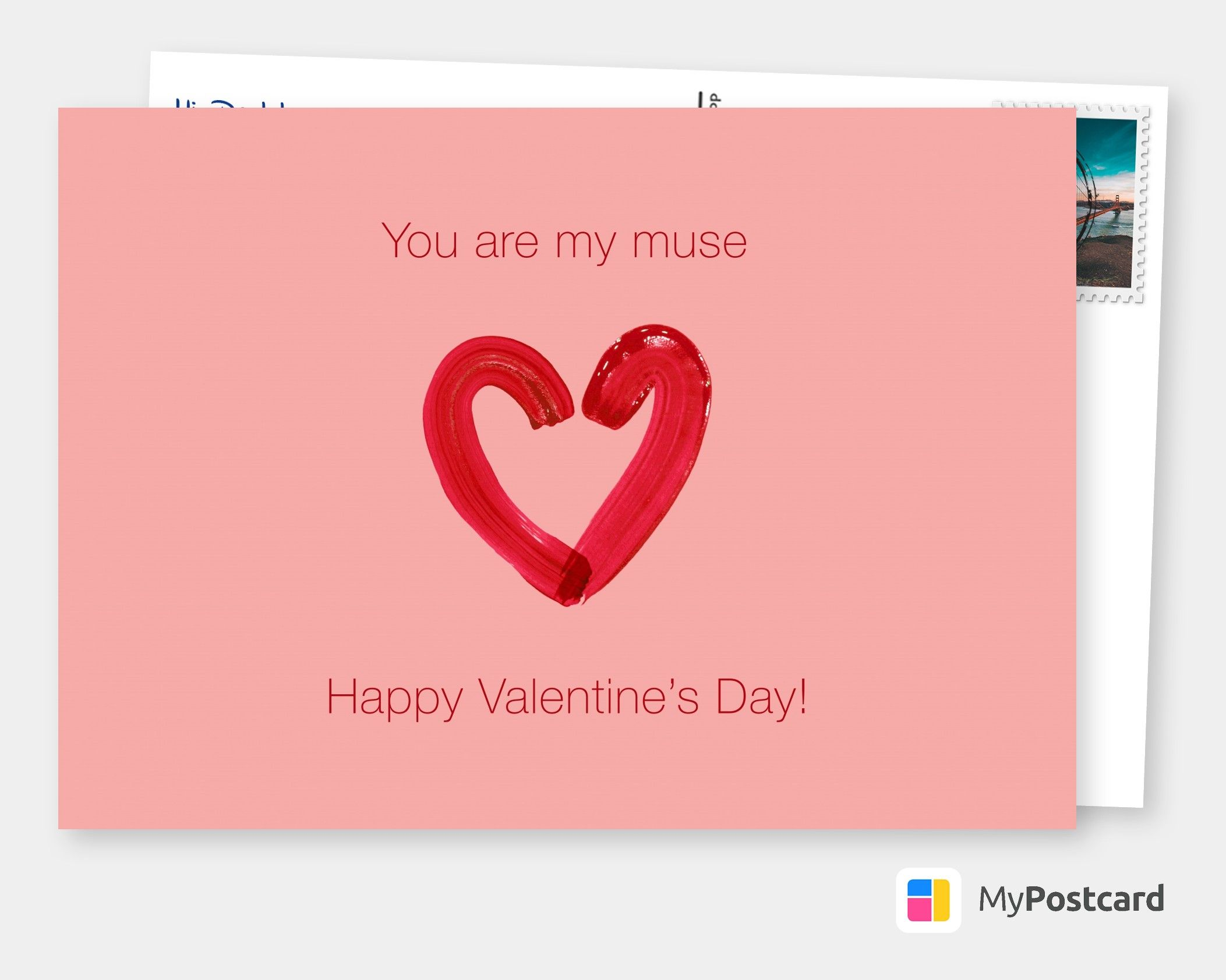 My Muse Love Cards Quotes Send Real Postcards Online