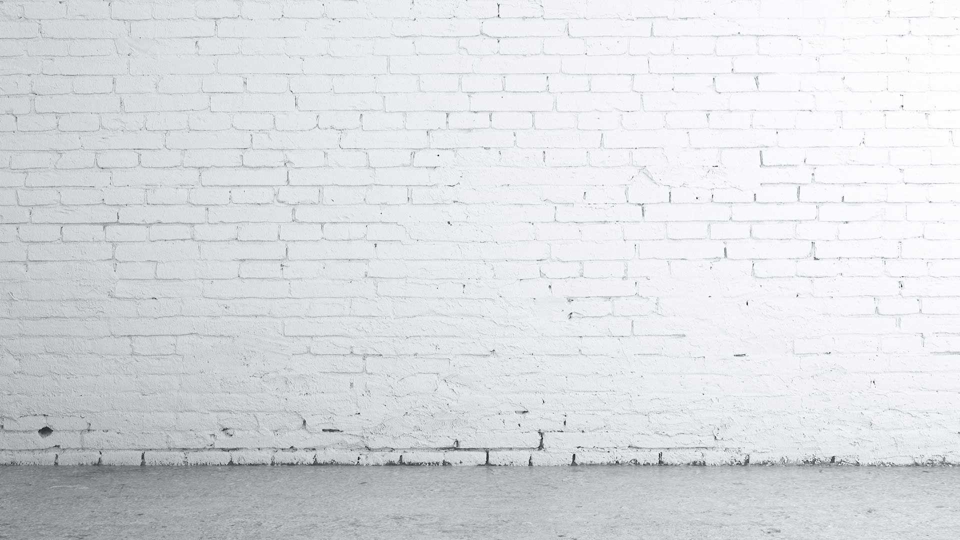 White Concrete Brick Wall White brick wall with grey