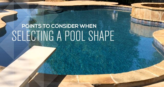 Pool Shape how do you decide which pool shape is right for you? #poolshapes
