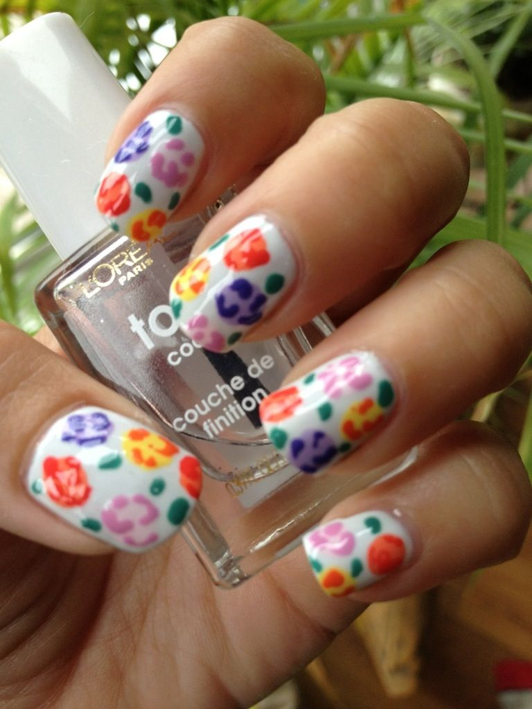 My 2012 Top 10 Nail Art Designs Gardens Manicures And Flower Nails