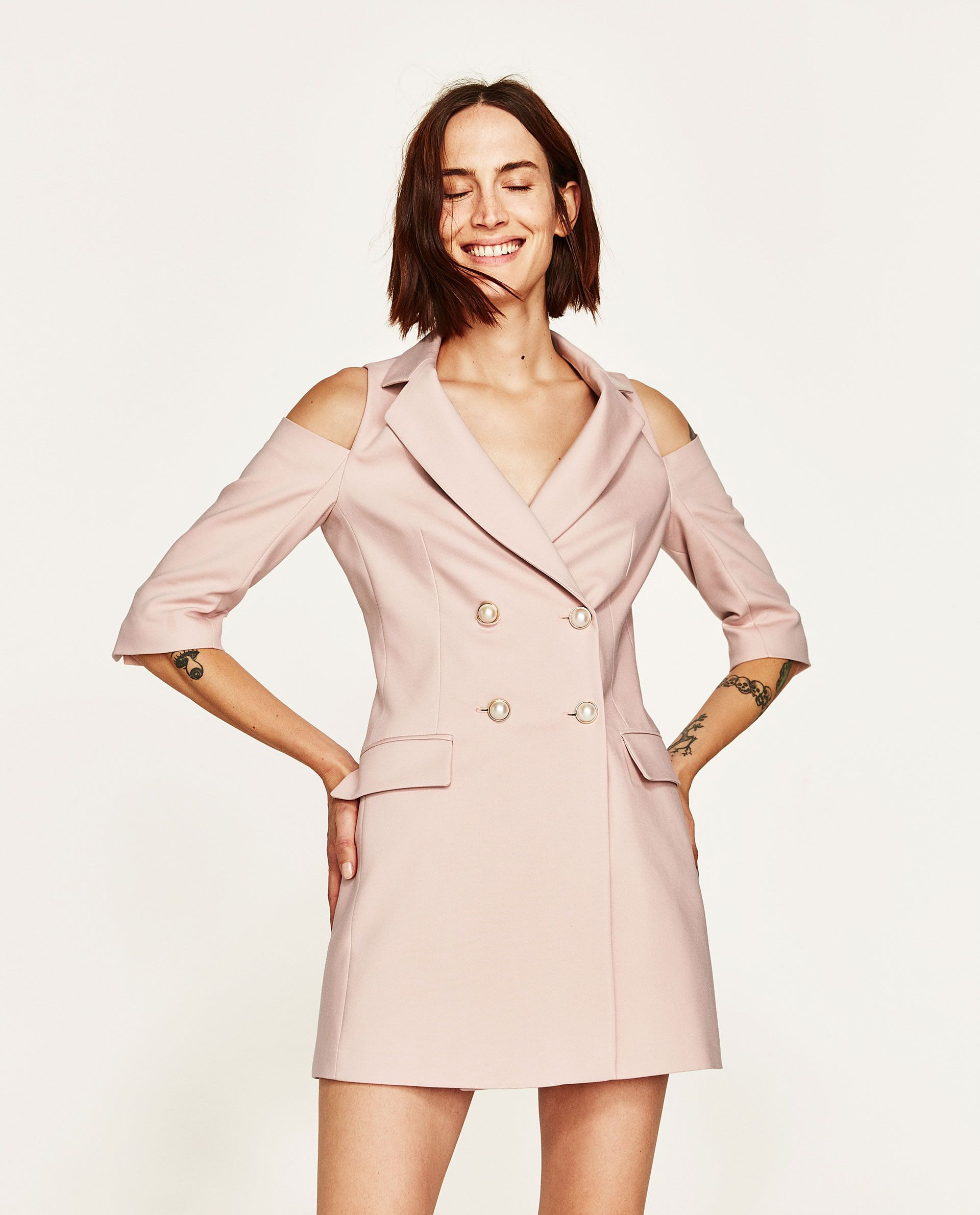 0cb8a26c Image 2 of BLAZER DRESS from Zara | outfits + fashion in 2019 ...