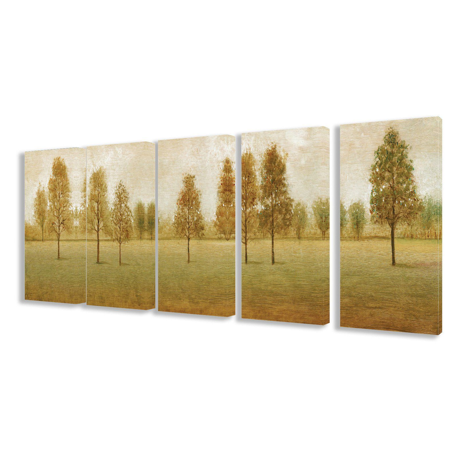 Stupell Decor Trees In A Park Wall Art - Set of 5 - TWP ...
