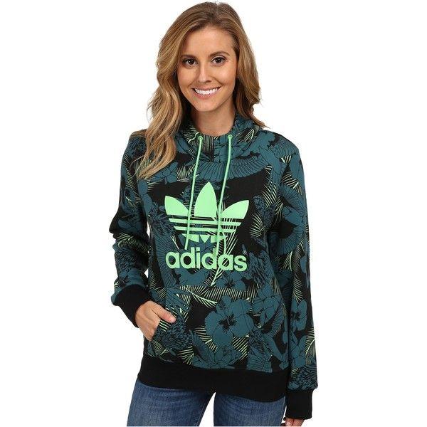 adidas Originals Trefoil Logo Hoodie Women s Sweatshirt fbdf92ce1e