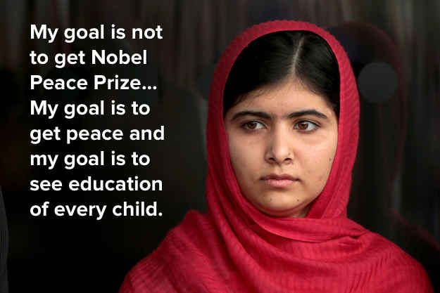Malala Quotes Mesmerizing The Most Inspiring Quotes From Malala Yousafzai's Bbc Interview