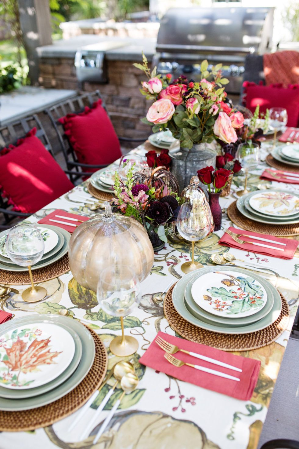 Holiday Hosting At Home Fall Decor Tablescapes And Entertaining
