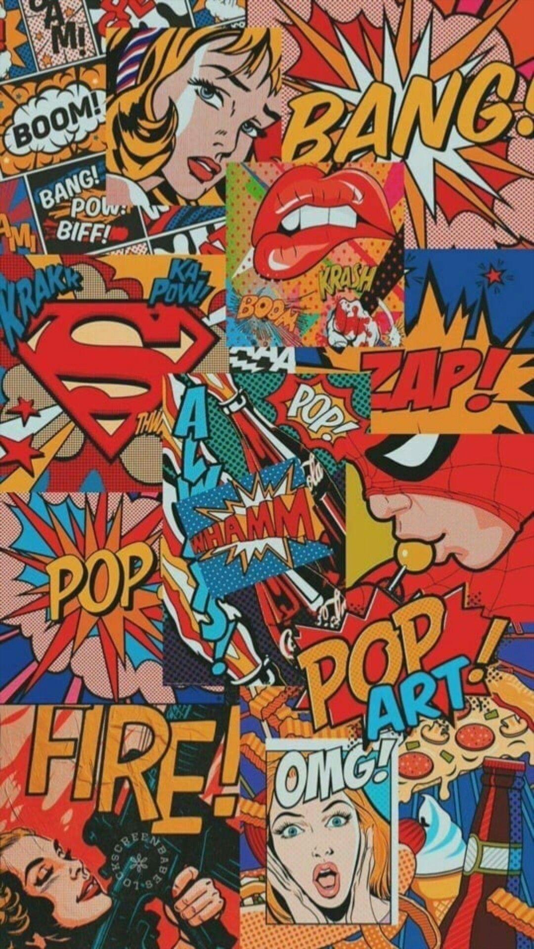 You Was My Superman Art Wallpaper Iphone Pop Art Wallpaper Cartoon Wallpaper