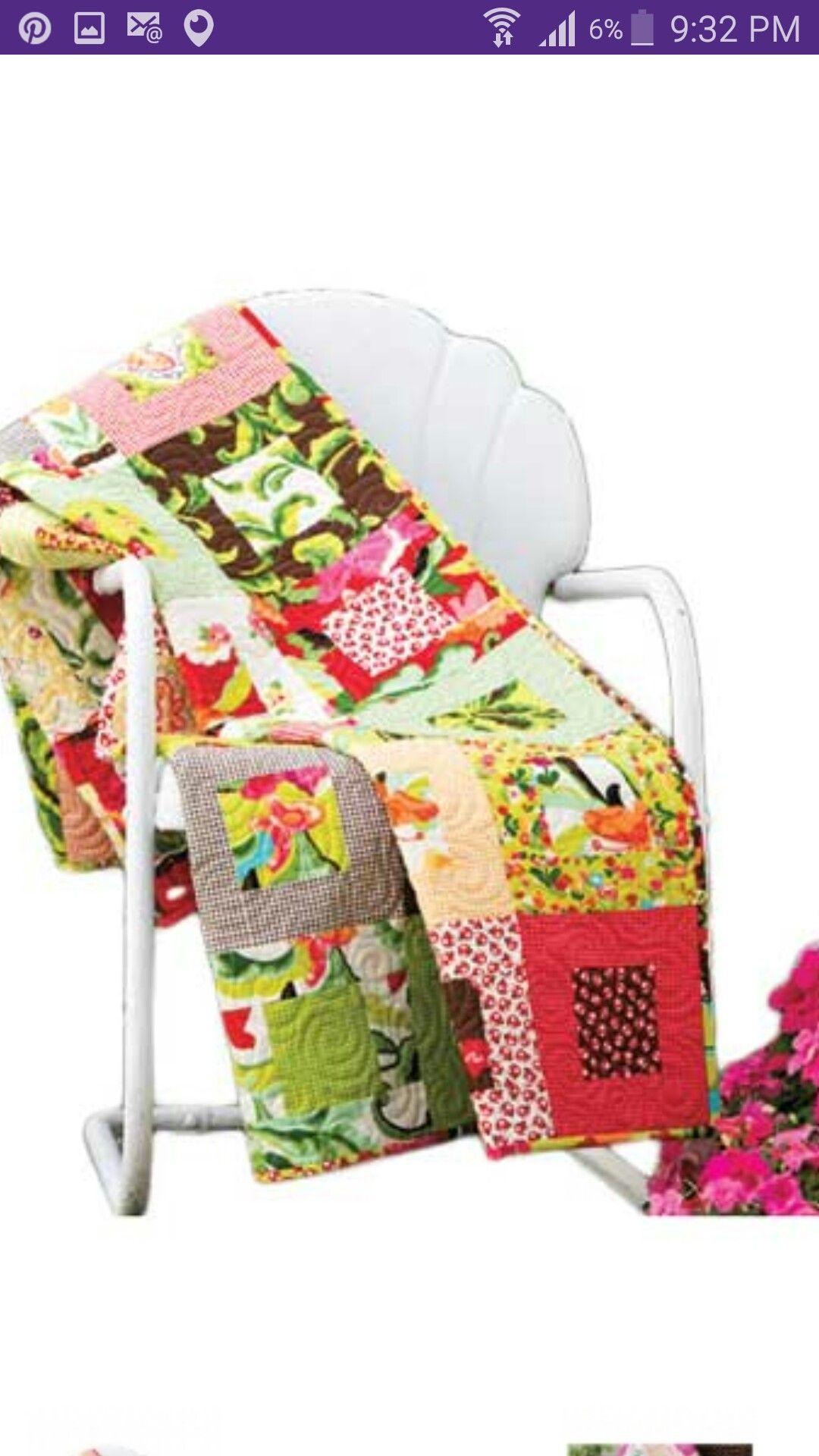Quilt floral | Especiales | Pinterest