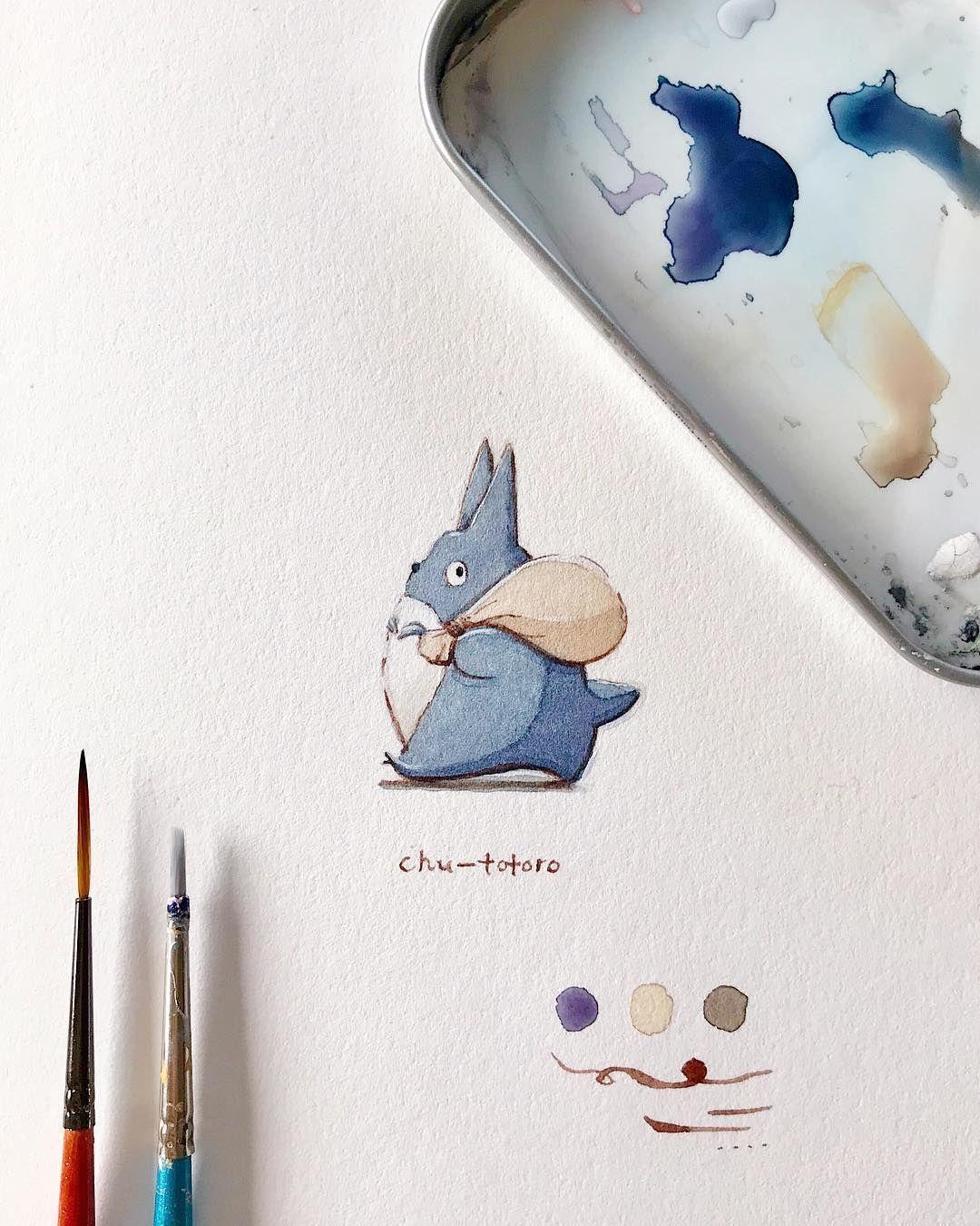 Ghibli Art ジブリアート おしゃれまとめの人気アイデア Pinterest Ghibligoodsfan ジブリグッズファン 画像あり トトロ かわいい トトロ ジブリ イラスト