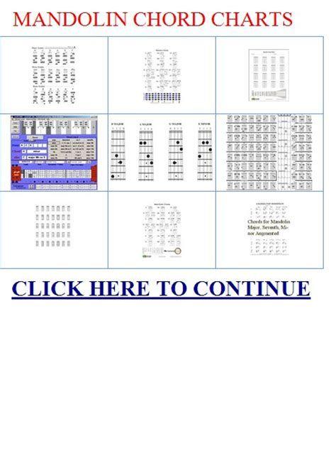 Octave Mandolin Chords Chart Images Mandolin Music Pinterest