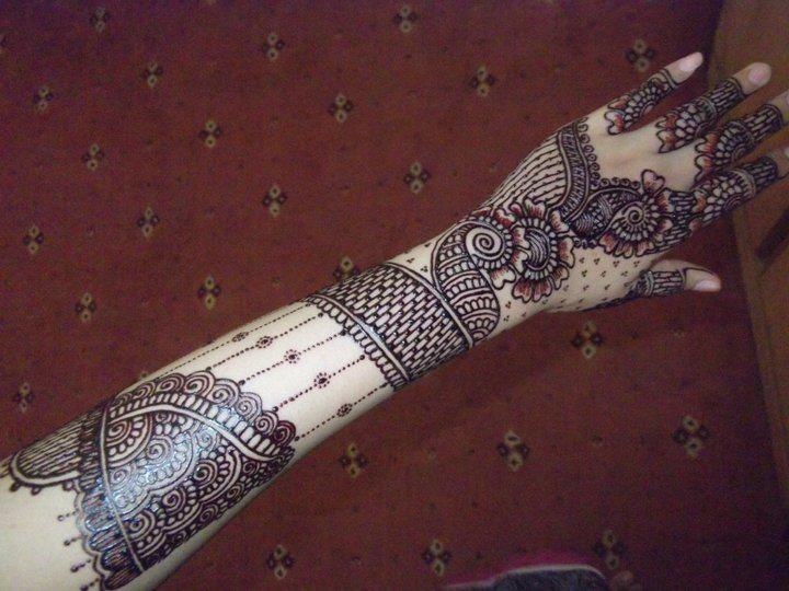 Full Arm Mehndi Designs : Full arm mehndi designs by heena beauty parlor foodiessssss
