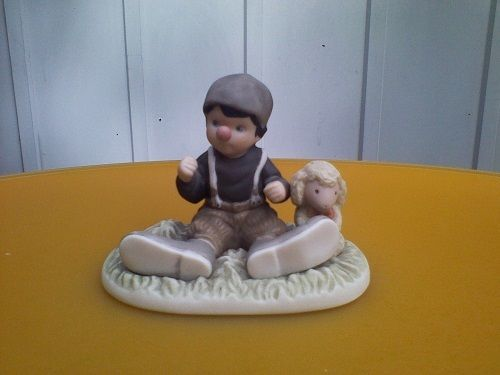 Kim Anderson PAAP I Promise You Laughter And Smiles Figurine 630047