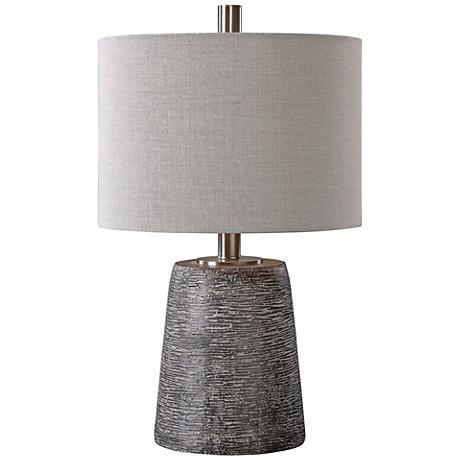 Uttermost Duron Dark Rustic Bronze Ceramic Table Lamp 1g177 Lamps Plus Bronze Table Lamp Ceramic Table Lamps Table Lamp