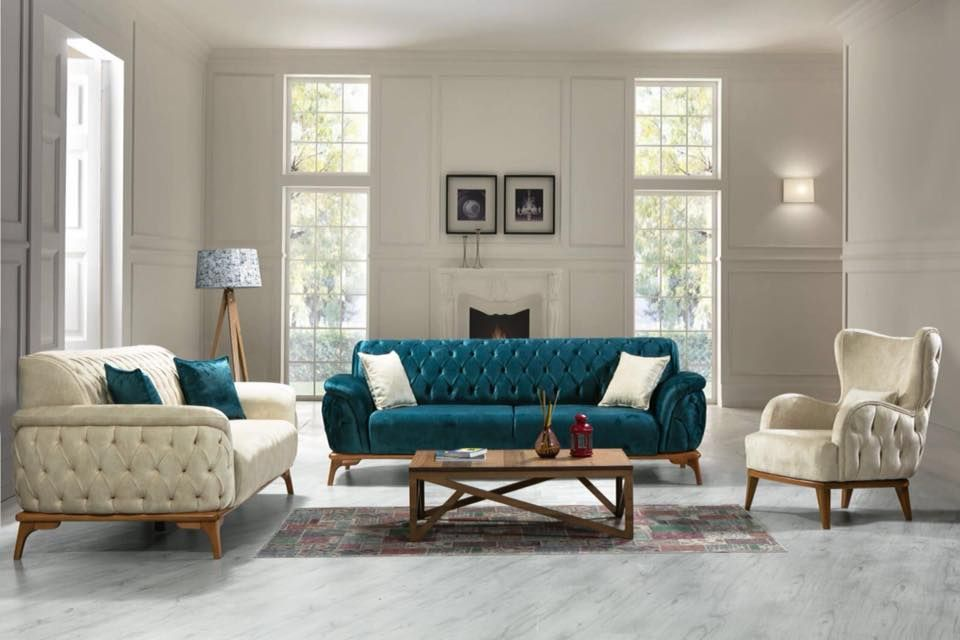 Legant Living Mastered With Quilted Royal Turkish Suede Sofa Set In Contrasting Colours And A Stylish Table India Home Decor Bedroom Wall Paint Furniture Store