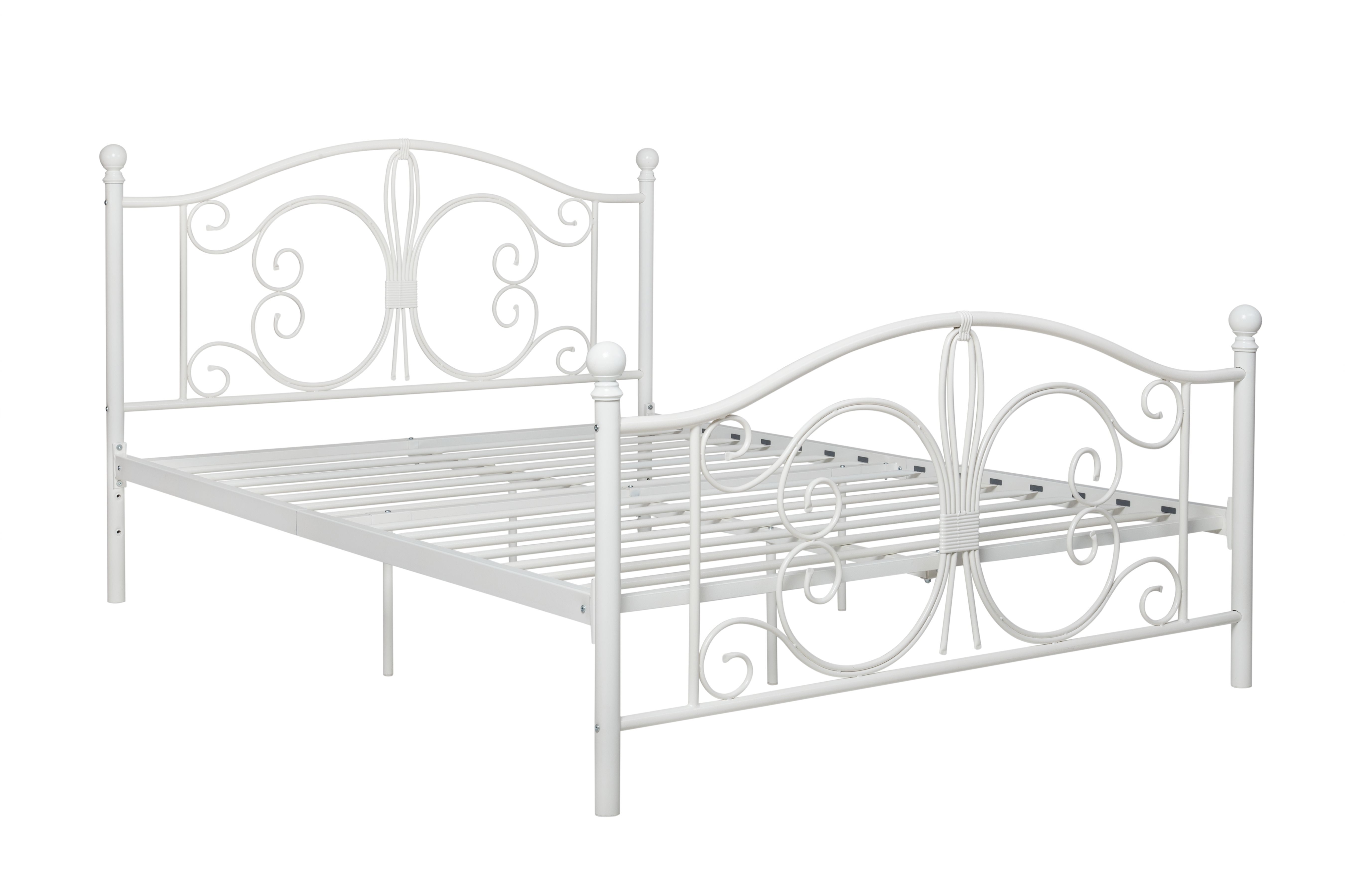 Bombai Metal Full Bed White Metal Bed Frame Metal Beds