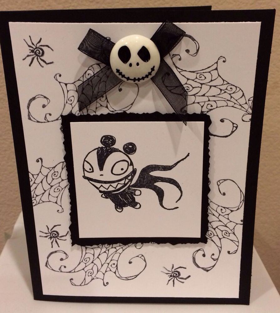 Nightmare Before Christmas Birthday Cards   www.topsimages.com